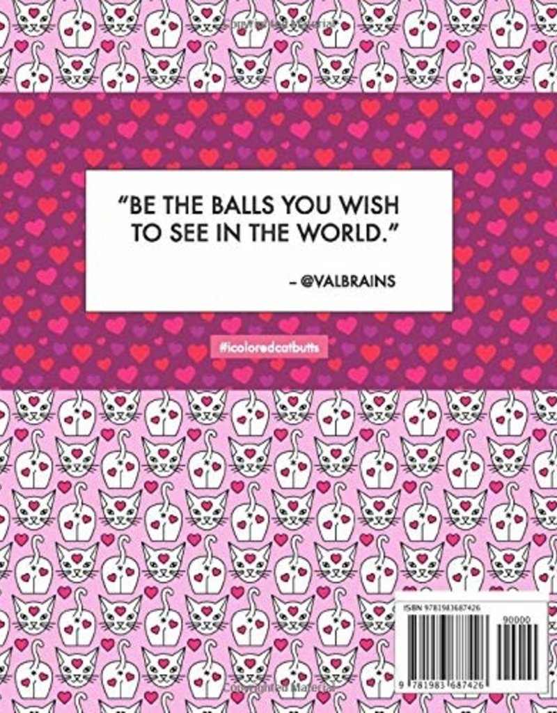 Valbrains Valbrains -Cat Butts in love Coloring Book