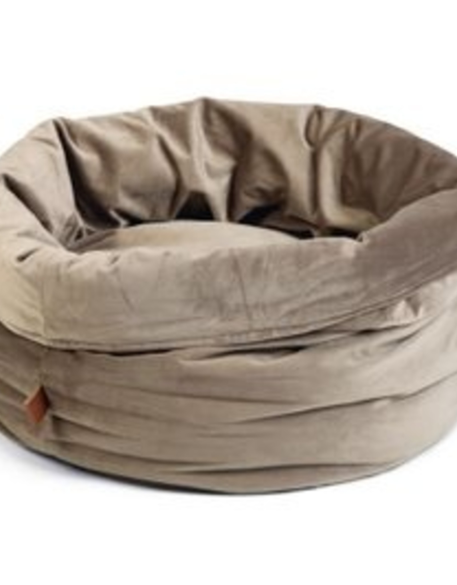 Designed by Lotte Designed by Lotte - fluwelen mand grijs