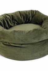 Designed by Lotte Designed by Lotte - fluwelen mand groen
