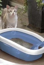 Beeztees Beeztees - Kattenbak Sprint wit/blauw