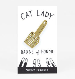 Sunny Eckerle Sunny Eckerle Cat lady - litter scoop pin