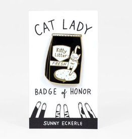 Sunny Eckerle Sunny Eckerle Cat lady - Kitty litter pin