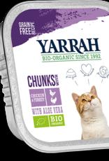 Yarrah - Kattenvoer chunks met kip en kalkoen 100g