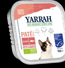 Yarrah - Kattenvoer paté met zalm 100g