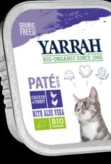Yarrah - Kattenvoer paté met kip en kalkoen 100g