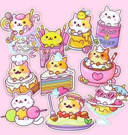 We Are Extinct We are extinct Yum Yum cats serie 4 - sticker pack