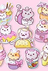 We Are Extinct We are extinct Yum Yum cats serie 1 - sticker pack
