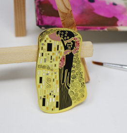 Niaski Niaski Klimt Kiss pin