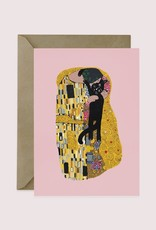 Niaski Niaski - Klimt Kiss kaart
