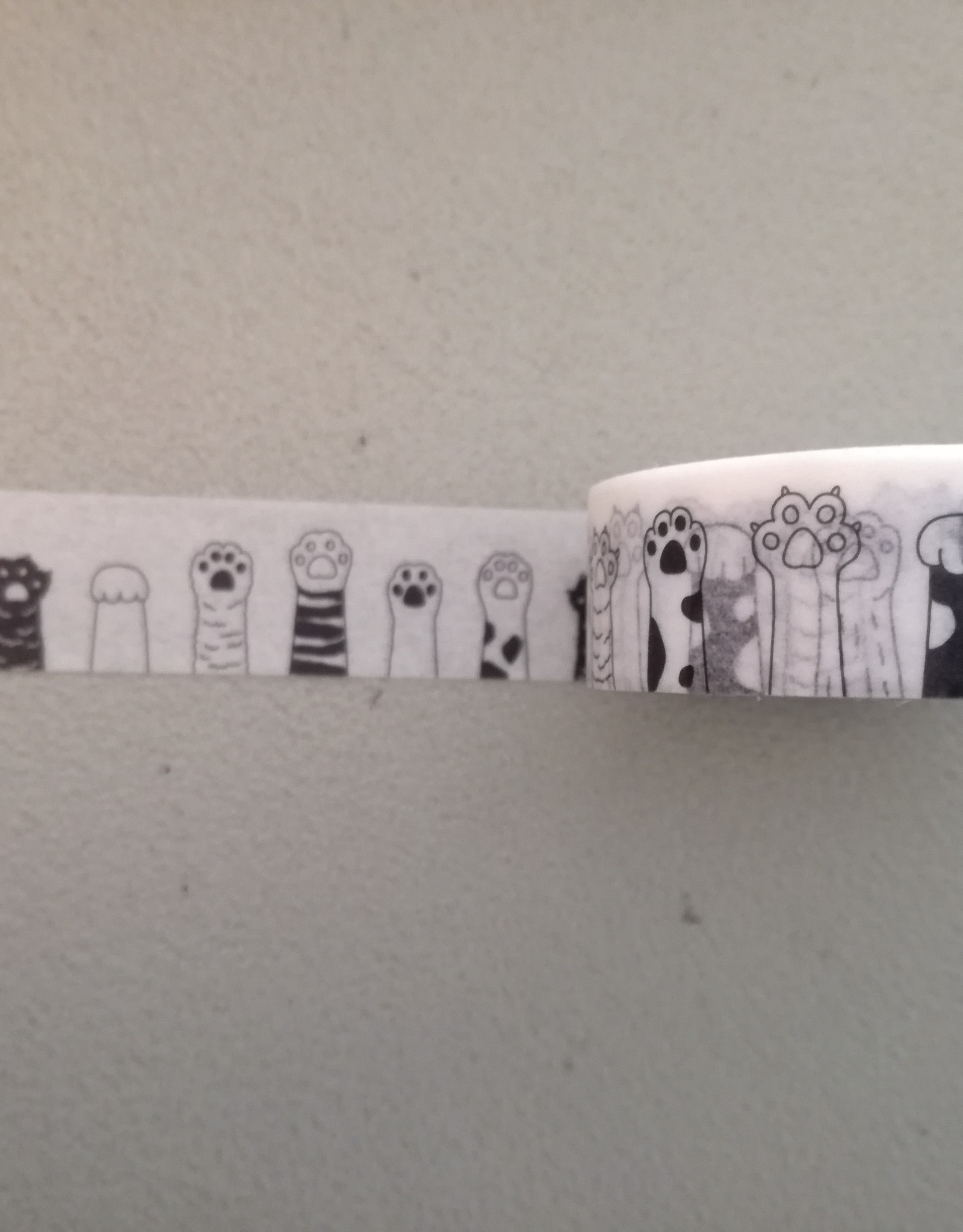 Wild Whiskers Washi Tape paws