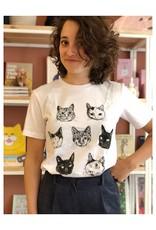 Kopjes Kopjes portretjes - T-shirt Wit