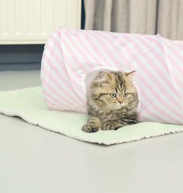 Beeztees Beeztees - Kitten speeltunnel Roze