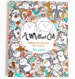 A Million Cats coloring book - Lulu Mayo