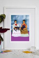 Niaski Niaski - de twee Frida's print