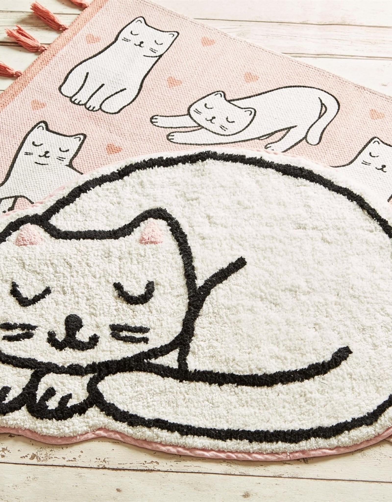 Sass & Belle Sass & Belle Cutie cat nap time rug vloerkleed
