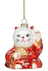 Sass & Belle Sass & Belle - lucky cat kerstversiering