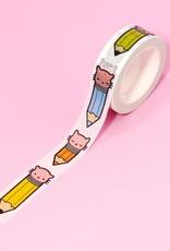 Pony People Pony People - Pencil Kitty Washi Tape