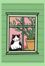 Pony People - Window Cat kaart