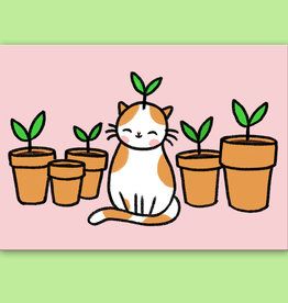 Pony People - Sprout Kitty Kaart