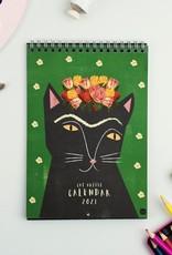 Niaski Niaski - Cat artists muur kalender 2021