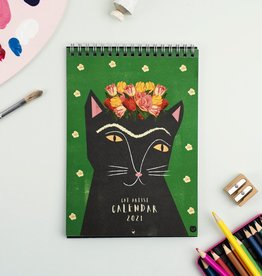 Niaski Niaski - Cat artists muur kalender 2021