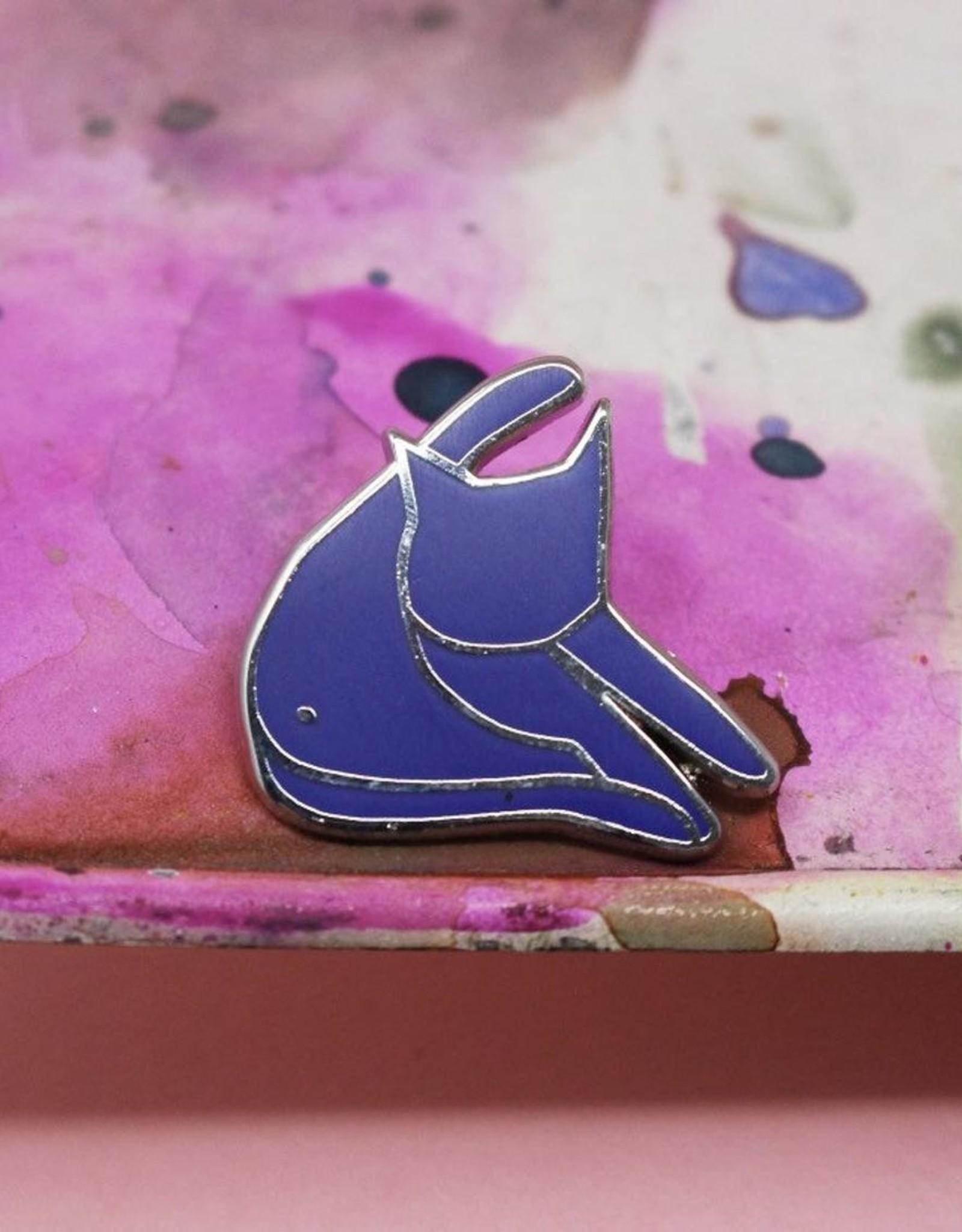 Niaski Niaski - blue cat grooming pin matisse