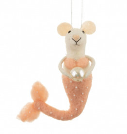 Sass & Belle Sass & Belle - Roze mermouse met parel