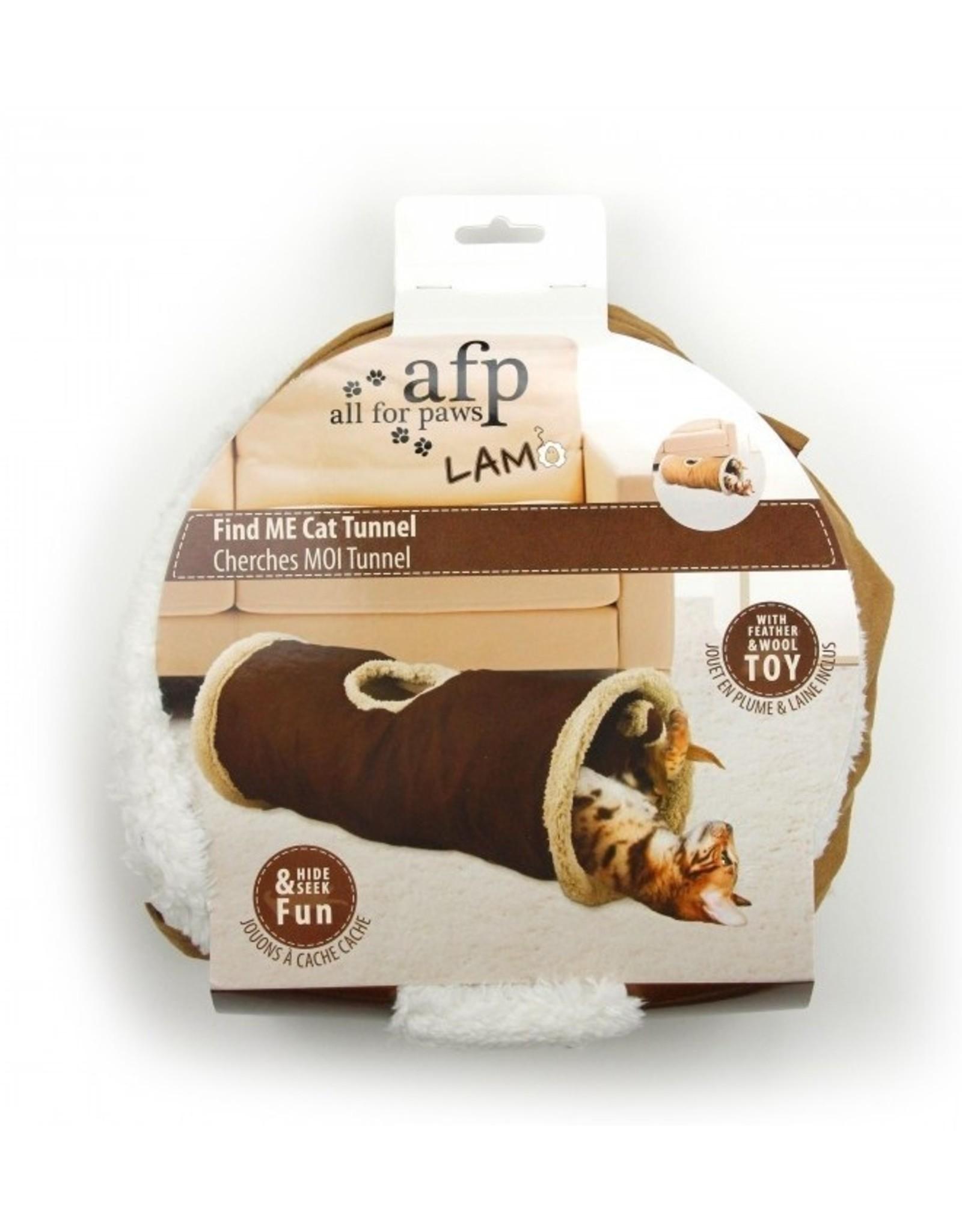 AFP Afp - Find me cat tunnel Tan