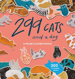 BIS Publishers Léa Maupetit - 299 cats (and a dog) - Feline cluster puzzle