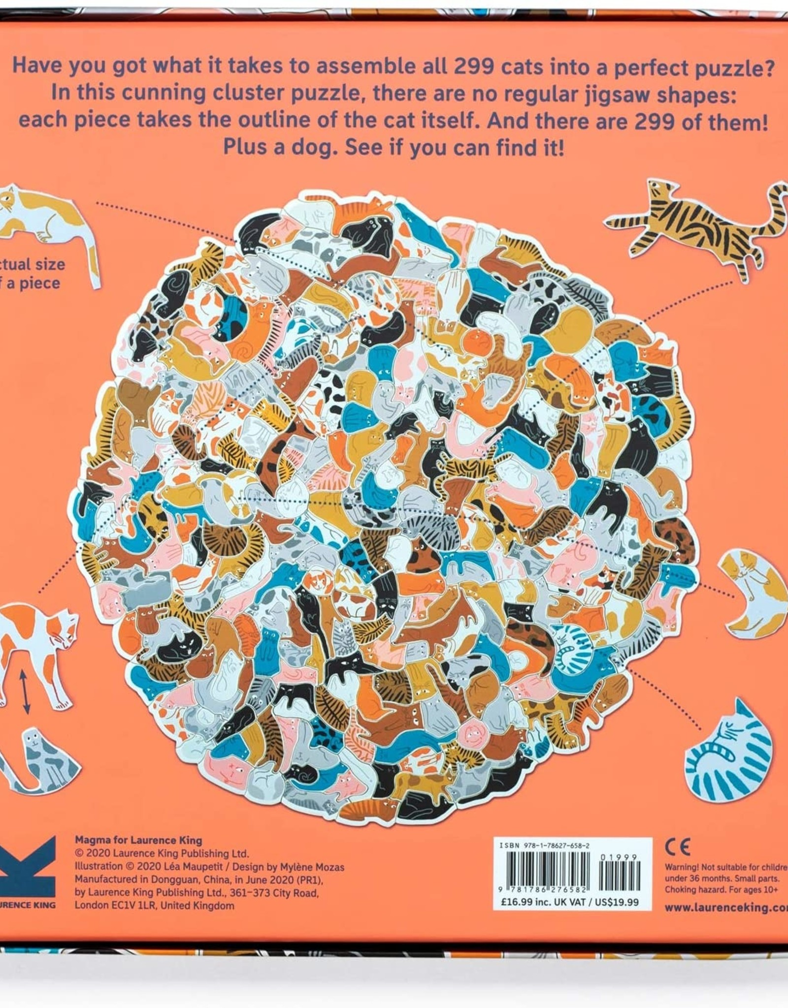 BIS Publishers Léa Maupetit - 299 cats (and a dog) - Feline cluster puzzle