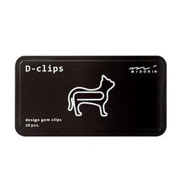 Midori Midori D-Clips CAT zwart doosje