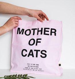 Niaski Niaski - Mother of Cats Tote Bag roze