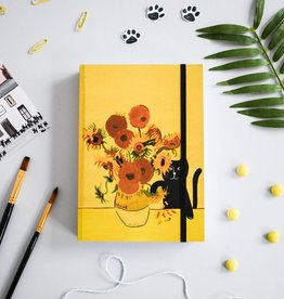 Niaski Niaski - Vincat van Gogh sunflower - sketchbook