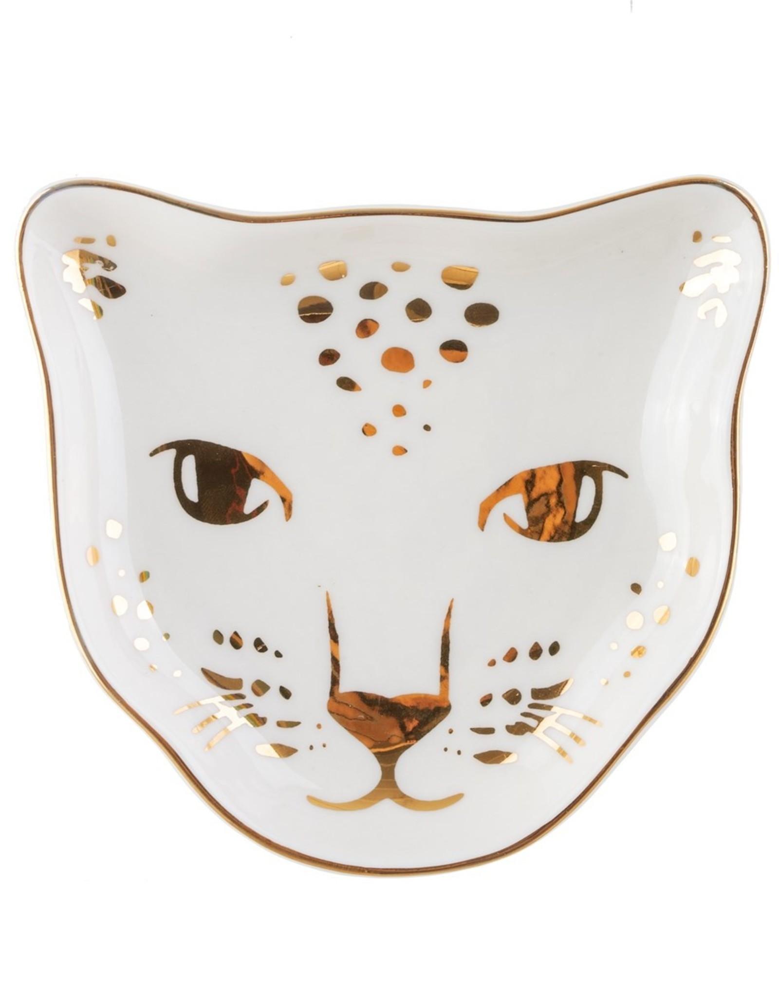 Sass & Belle Sass & Belle - leopard love  trinket dish (sieraden) schaaltje