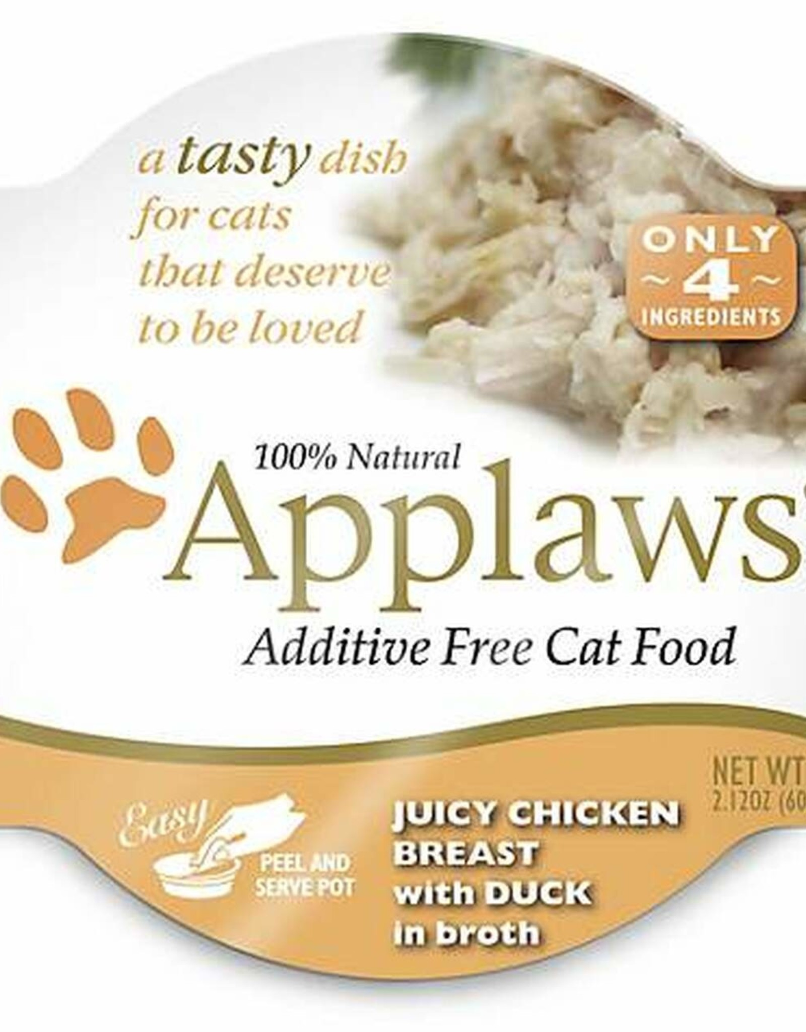 Applaws Applaws - Juicy chicken breast with duck