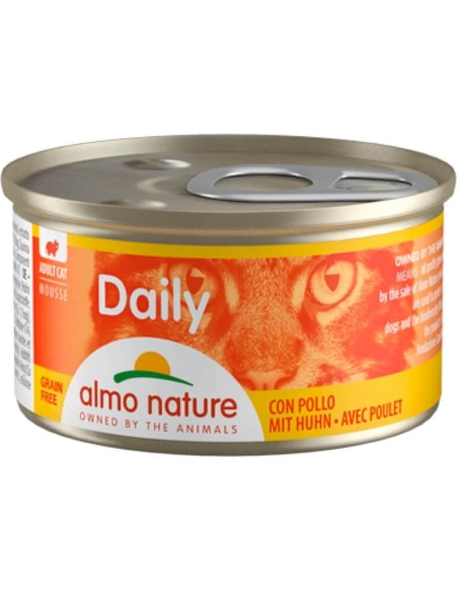 Almo Nature Almo Nature Daily Menu Natvoer - Mousse met Kip