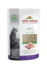 Almo Nature Almo Nature HFC Natural Maaltijdzakje - Kip & Eend