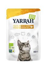 Yarrah Yarrah - Pouch-  Biologische filets met kip in saus