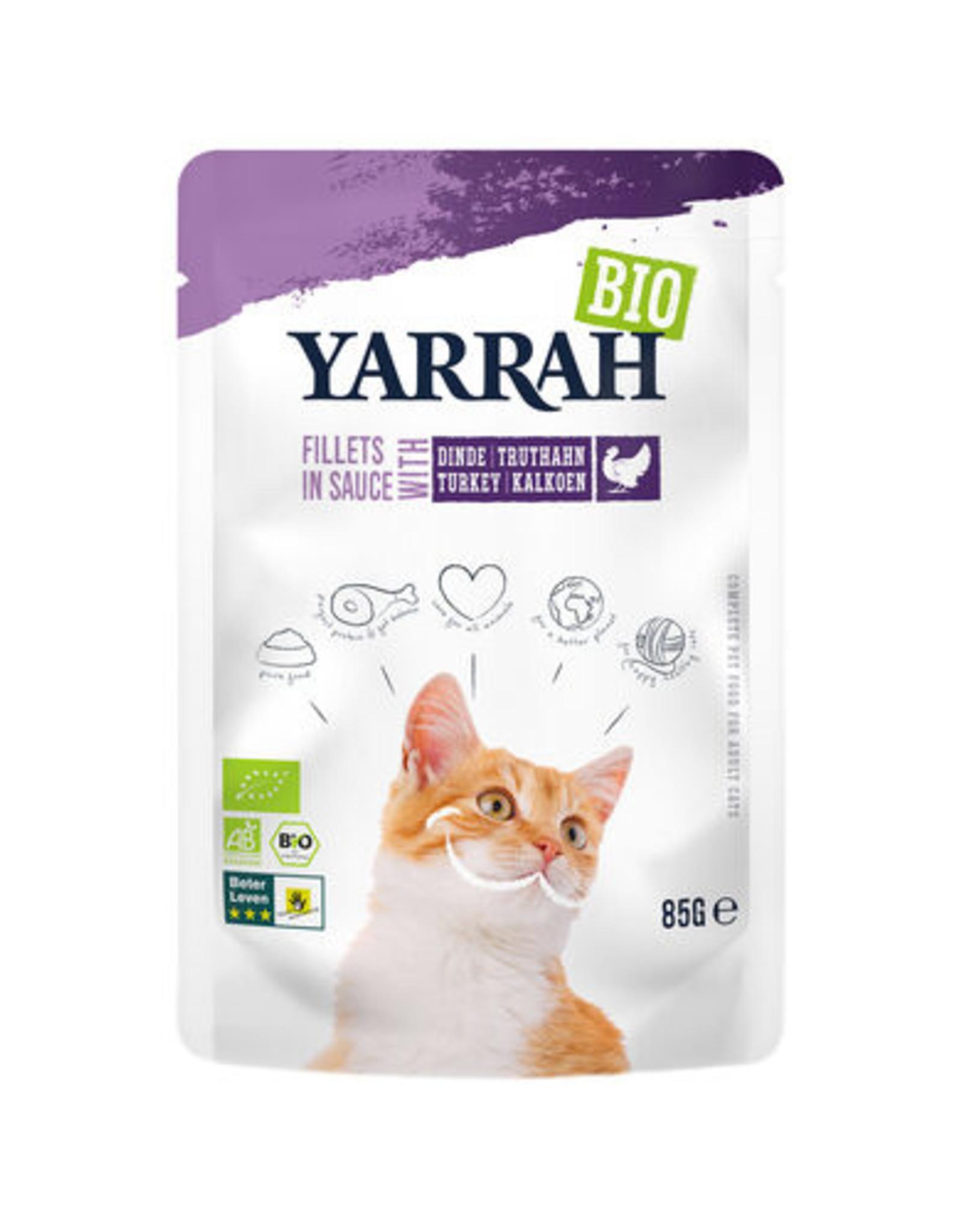 Yarrah Yarrah -  Pouch - Biologische filets met kalkoen in saus