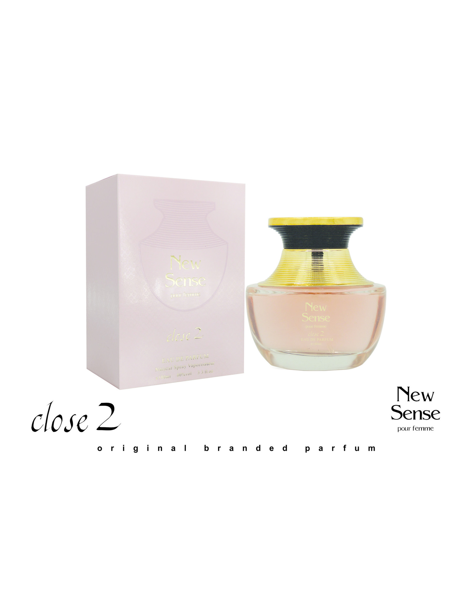 Close 2 parfums New sense EDP 100 ml