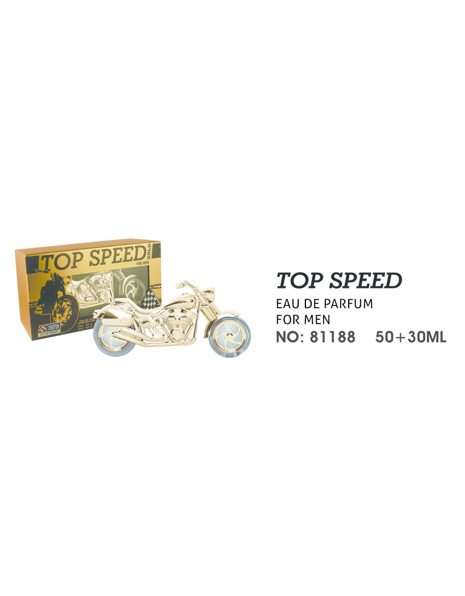 Tiverton Top speed gold EDT 30 + 50 ml