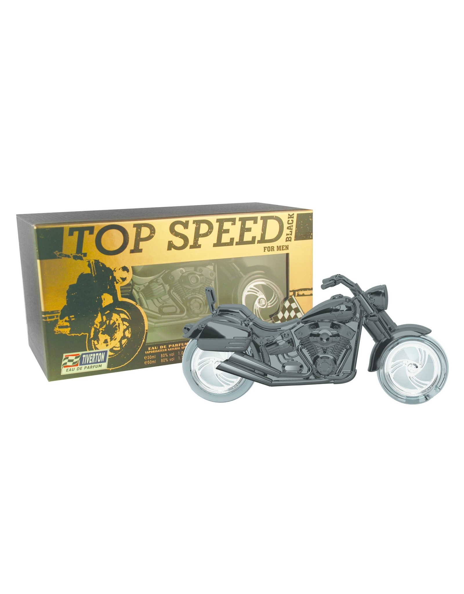 Tiverton Top Speed Black EDT 30 + 50 ml