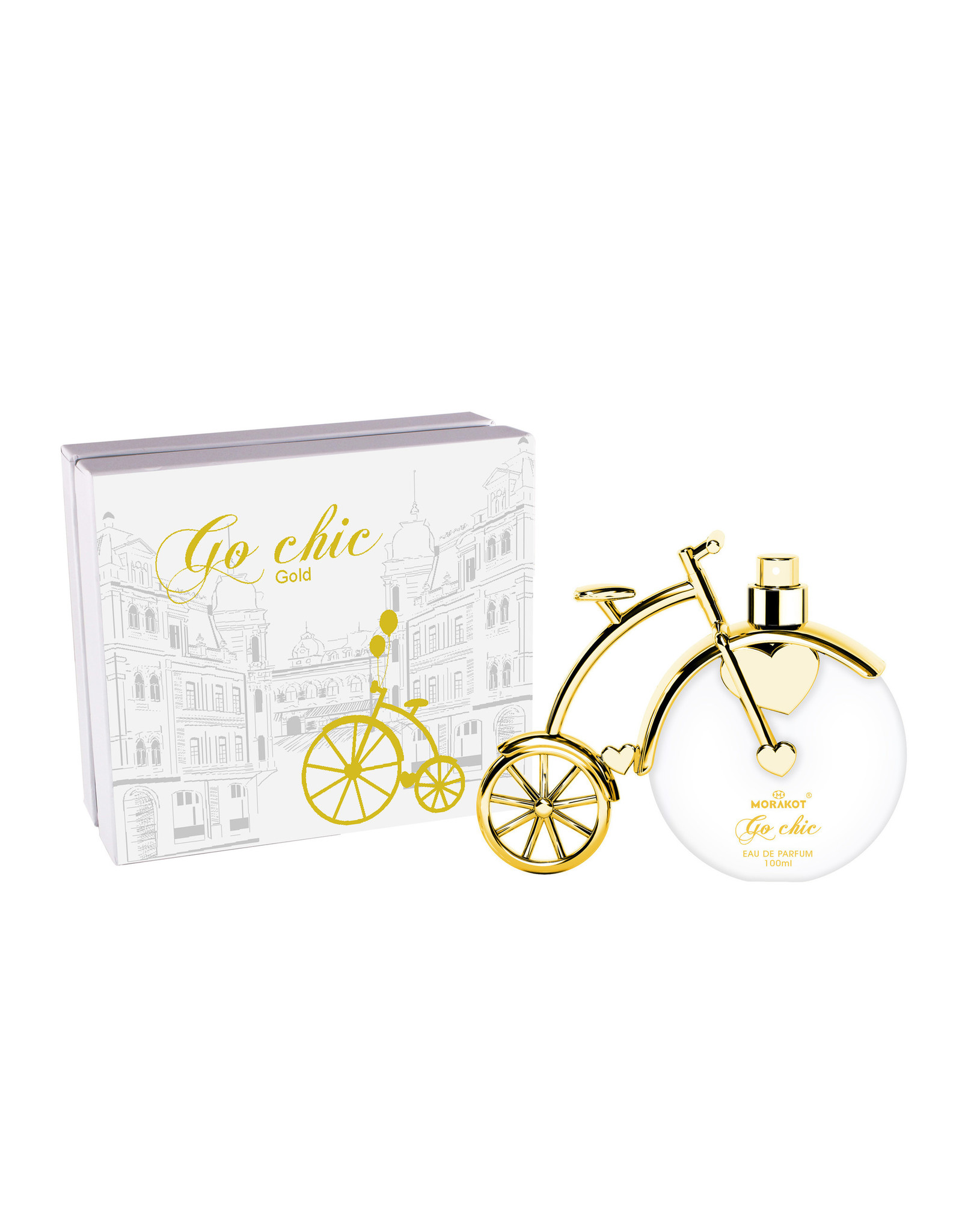 Tiverton Go Chic gold EDP 100 ml