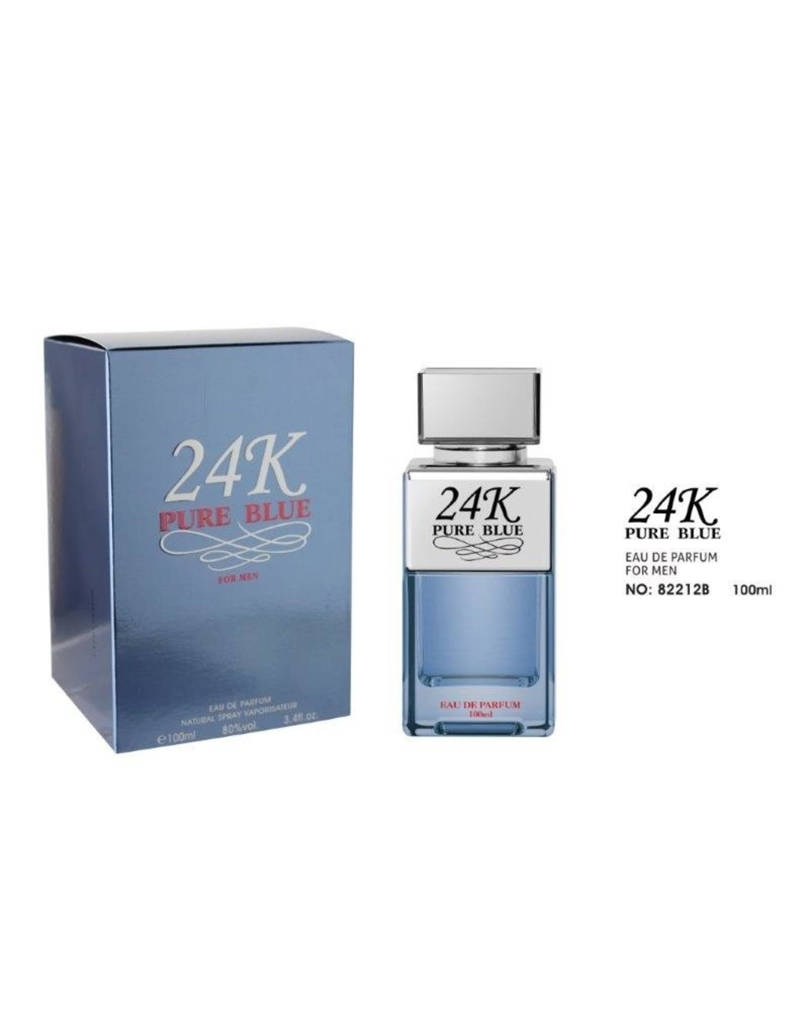 Tiverton 24K pure Blue EDT 100 ml