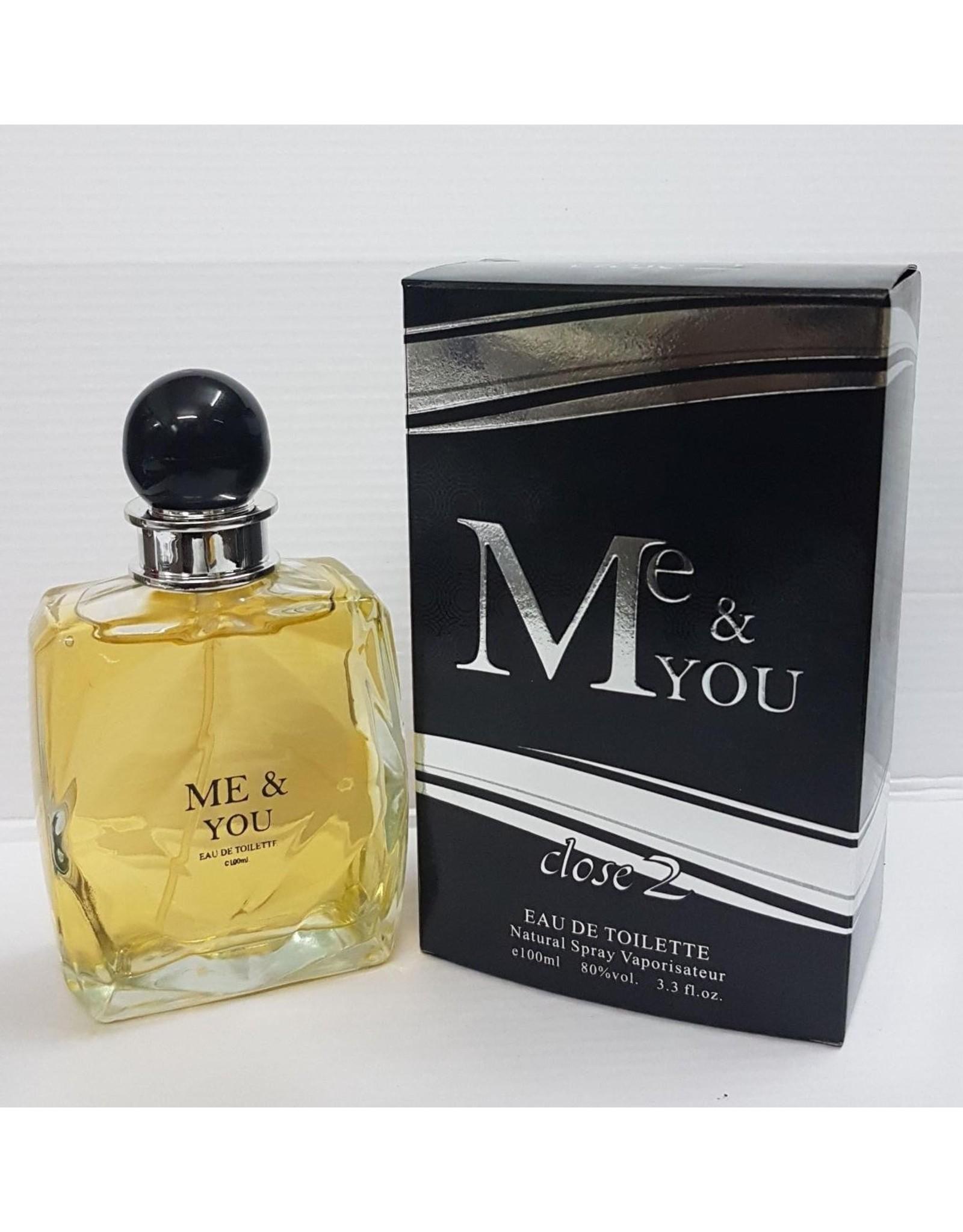 Close 2 parfums Me & you 100 ml EDT Heren