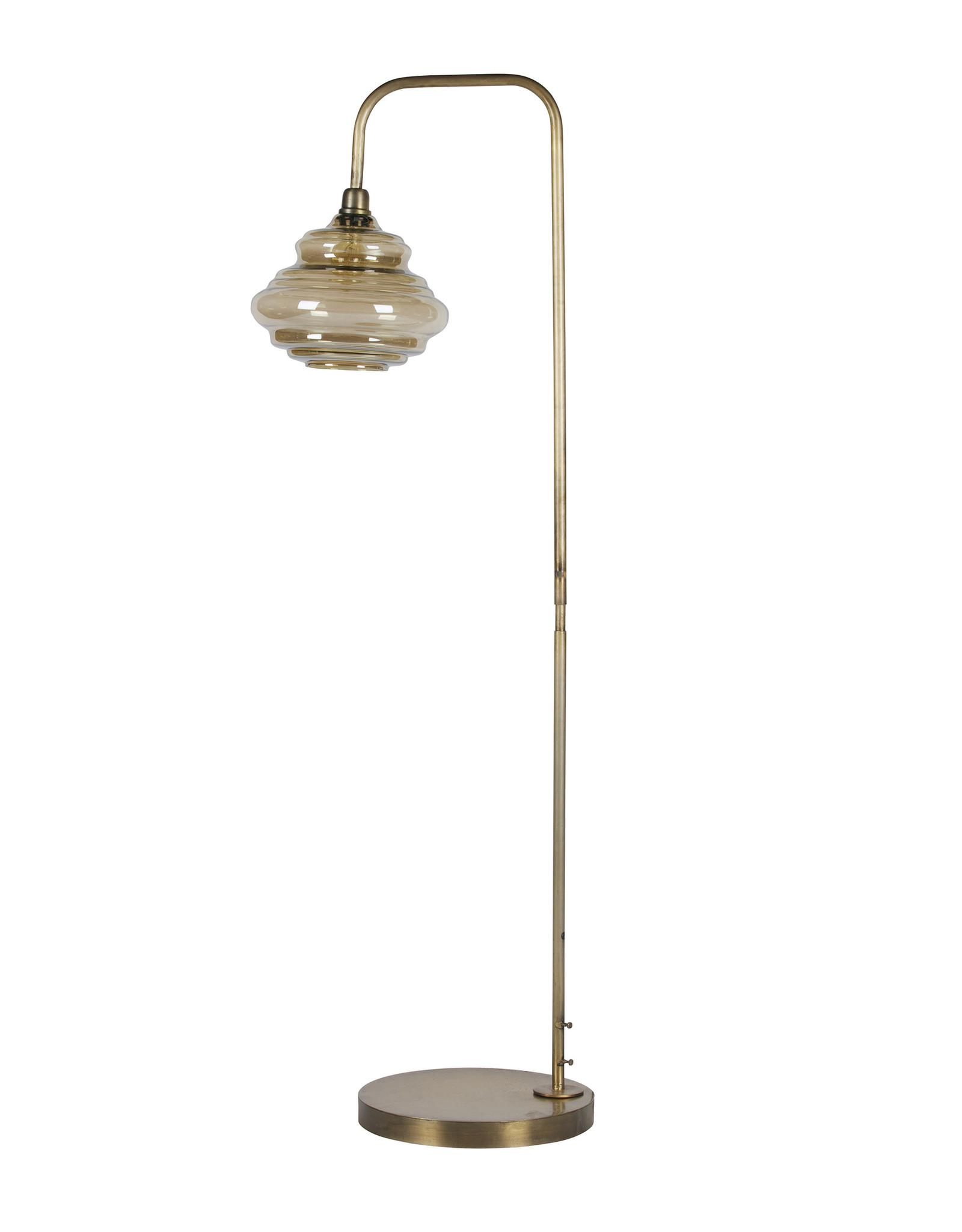 Staande Lamp Vintage Gold