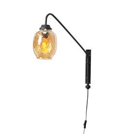 Wandlamp Gold