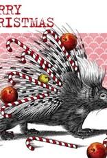 Servetten 33x33 cm - Christmas Porcupine