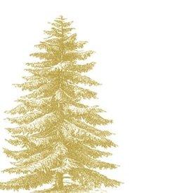 Servetten 33x33 cm - Gold Tree