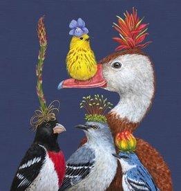 Servetten 25x25 cm - Ducks & Birds